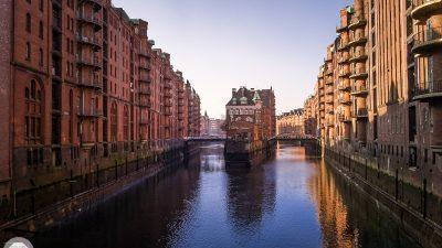 Hamburg Wasserschloss Tag