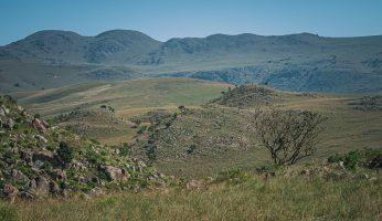 Berge im Malolotia Nature Reserve
